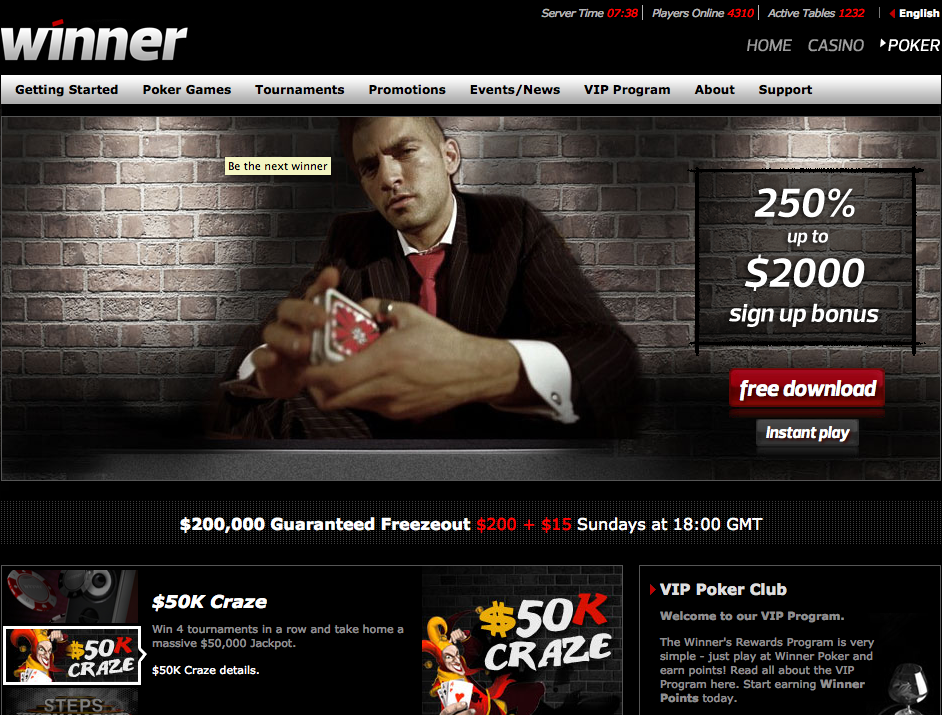 Poker winners are different download